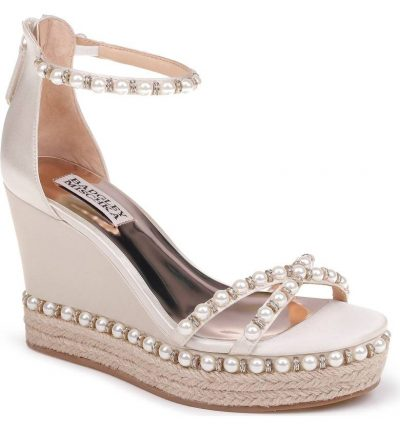 Sloan Wedge Sandal BADGLEY MISCHKA