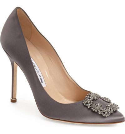 'Hangisi' Jewel Pump MANOLO BLAHNIK