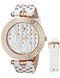 Versace Women's Vanitas Rose Gold Ion-Plated Coated Stainless Steel Watch