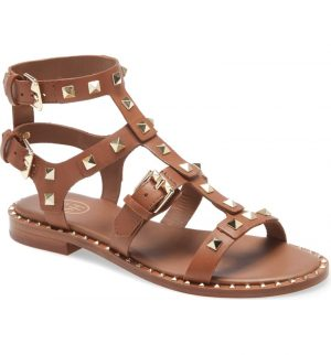 Pacific Studded Strappy Sandal ASH