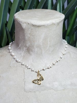 NECKLACE Butterfly S